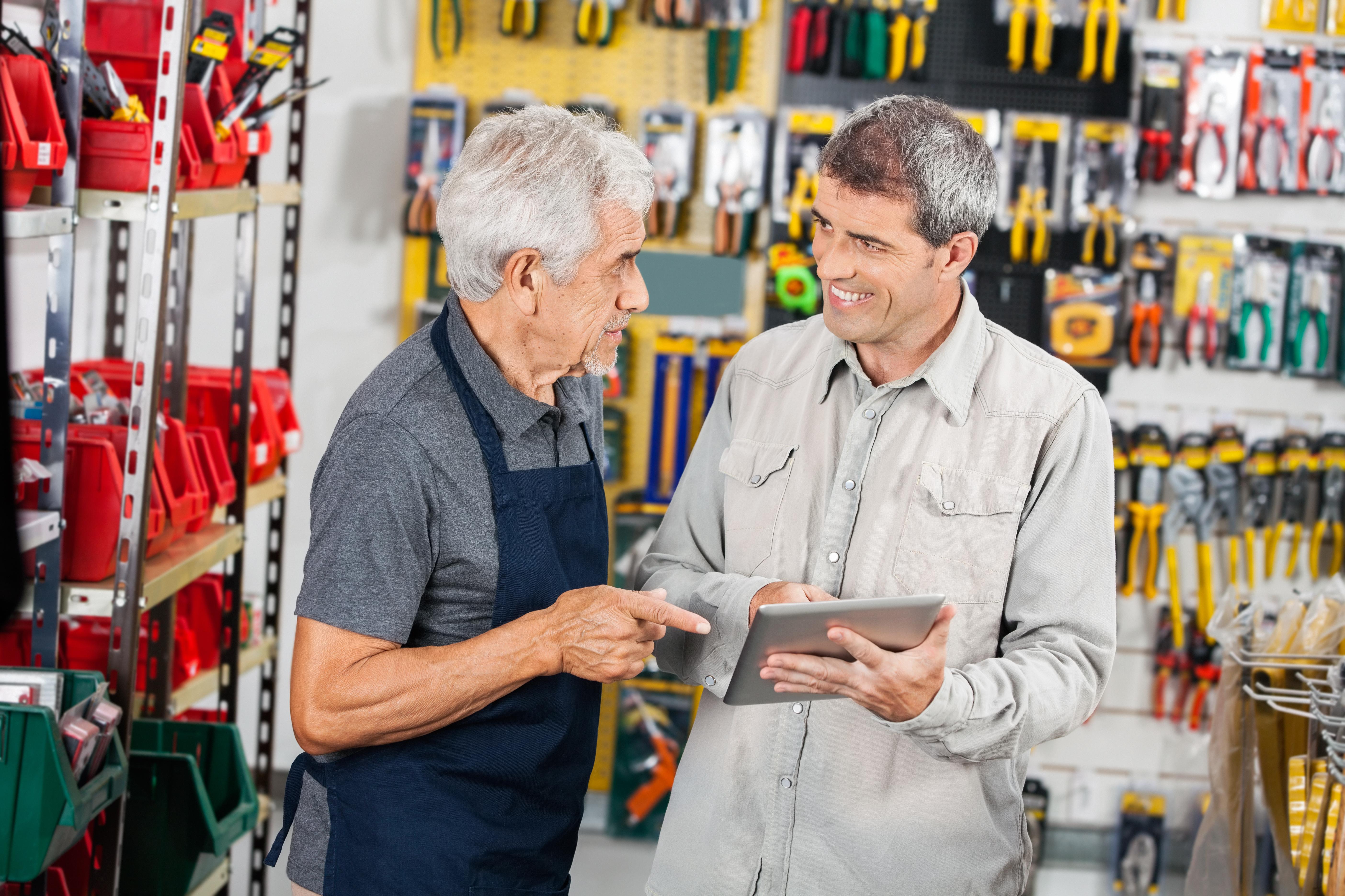 gestão comercial via mobile
