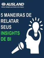 [E-book] 5 maneiras de relatar seus insights de BI
